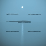 Moonrise and Blue