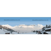 La Plagne (panoramic Ratio 1/3)