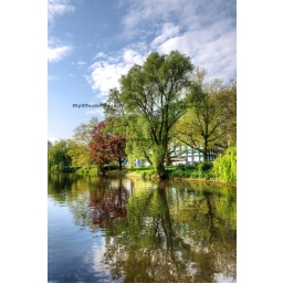 Fine Art 20x30 - Canal et Réflection de couleurs