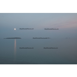 Fine Art 20x30 - Moonrise on the Palombaggia