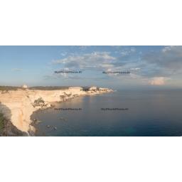 Toile Fine Art 20x40 -  Cliff of Bonifacio #2