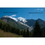 Toile Fine Art 20x30 - Mont-Blanc in summer