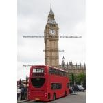 Toile Fine Art 20x30 - Buses et Big Ben