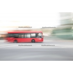 Toile Fine Art 20x30 - Blur of London's Buses