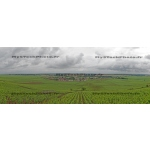 Toile Fine Art 20x30 - Panorama of the Wine of Vosne-Romanée, Bourgogne