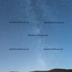 Toile Fine Art 20x20 - The Milky Way