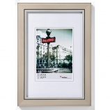 Cadre photo bois couleur acier 20x30 cm Metro