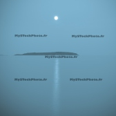 Fine Art 20x20 - Moonrise and Blue