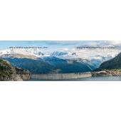 Weir of Emosson in Switzerland